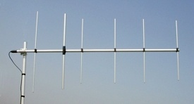 Sirio WY140-6N VHF 140-160 MHz Base Station 6 Element Yagi Anten