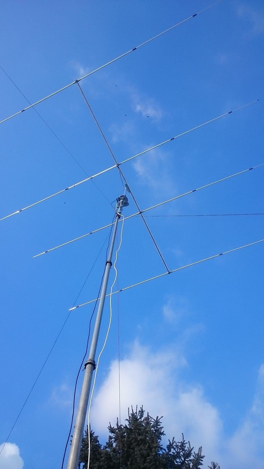 Sirio SY 27-4 4 elements 26.5 - 30 Mhz Tunable Yagi Antenna