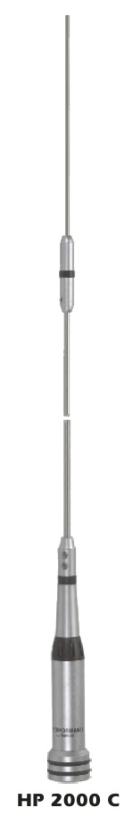 Sirio HP 2000C VHF 2m Radialess Mobile Antenna
