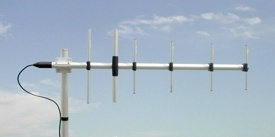 Sirio 380-6N UHF 380-440 MHz Base Station 6 Element Yagi Anten