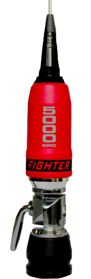 Sirio Fighter 5000 PL Red 10m & CB Mobile Antenna