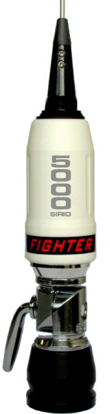 Sirio Fighter 5000 PL White 10m & CB Mobile Antenna