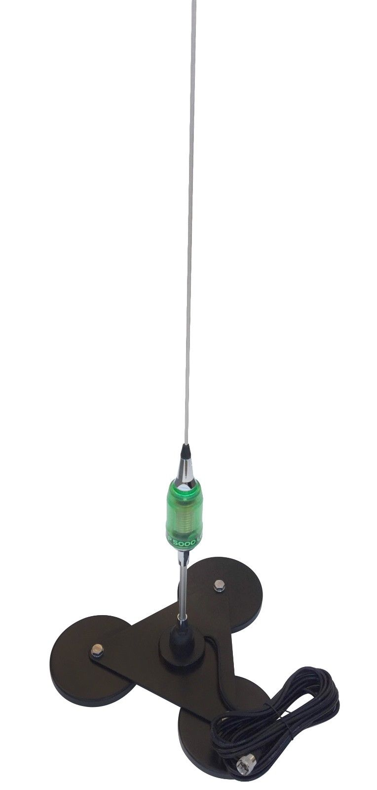 Sirio Performer 5000 3/8 LED 5000W Antenna with Triplex Magnet