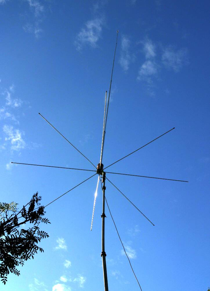 Sirio 2008 (26.4 - 28.2 Mhz) 5/8 Tunable 10M-HAM Base Antenna