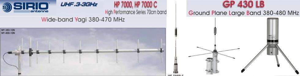 Sirio Antenna, High Performance Antenna Made in Italy